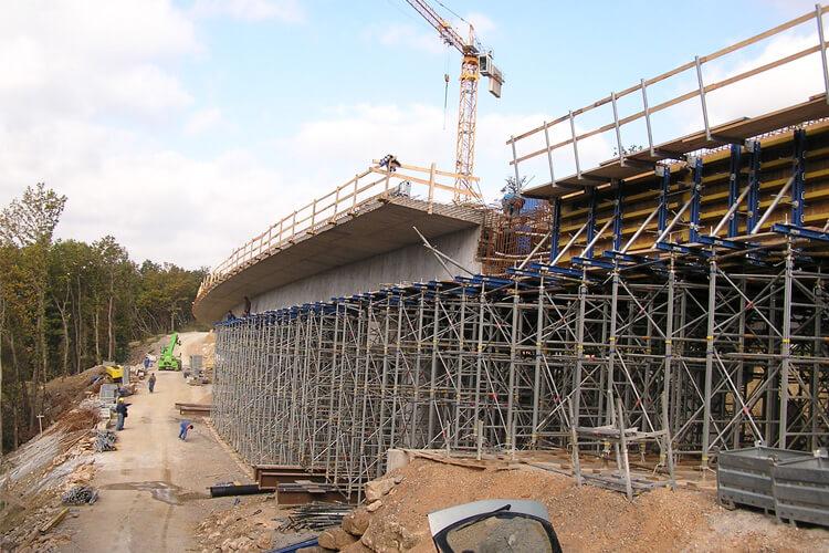Viaduct HC Razdrto Podnanos, SPIT structural design