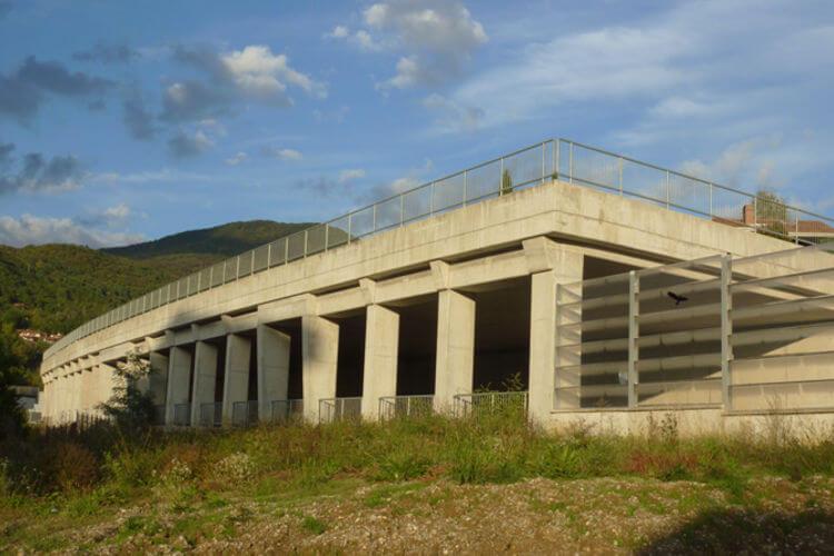 Solkan bypass, SPIT structural design